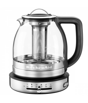Электрочайник KitchenAid Artisan 5KEK1322ESS, 1.5 л., стеклянный